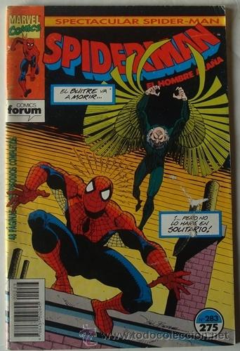 SPIDERMAN N.283 FORUM AJUSTE DE CUENTAS (Tebeos y Comics - Forum - Spiderman)