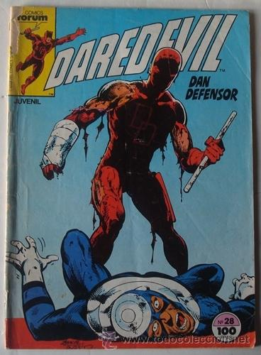 DAREDEVIL DAN DEFENSOR N.28 AÑO 1983 (Tebeos y Comics - Forum - Daredevil)