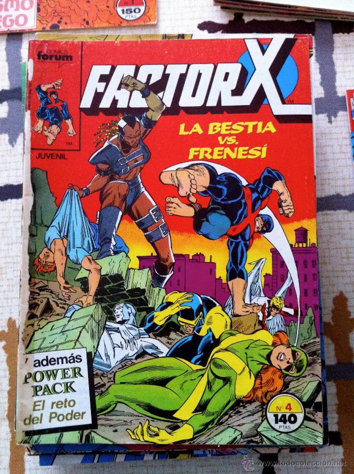 Cómics: FACTOR X. Lote de 79 comics + 3 Crossovers. Todos 1ª edición española, año 1988. - Foto 4 - 41102834