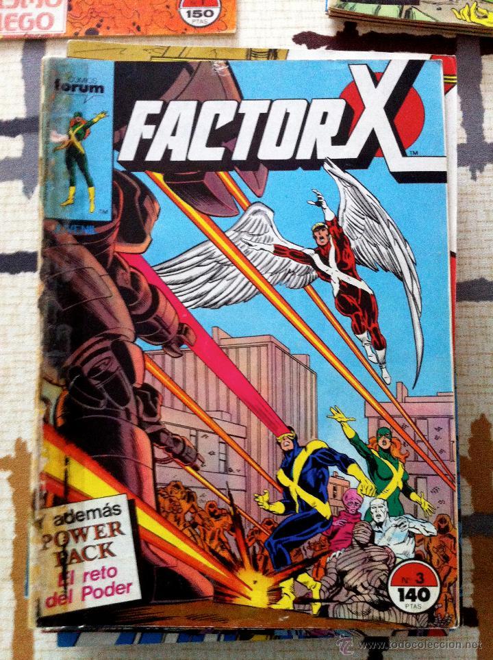 Cómics: FACTOR X. Lote de 79 comics + 3 Crossovers. Todos 1ª edición española, año 1988. - Foto 5 - 41102834