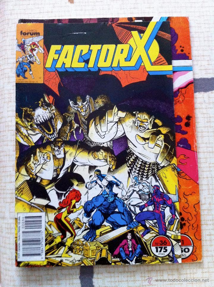 Cómics: FACTOR X. Lote de 79 comics + 3 Crossovers. Todos 1ª edición española, año 1988. - Foto 6 - 41102834