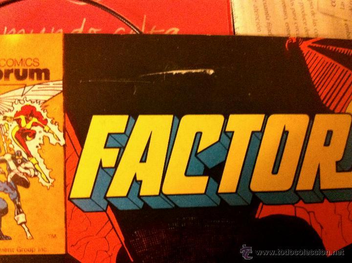 Cómics: FACTOR X. Lote de 79 comics + 3 Crossovers. Todos 1ª edición española, año 1988. - Foto 7 - 41102834