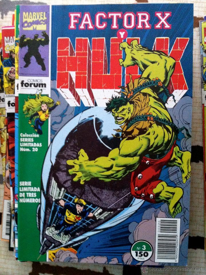 Cómics: FACTOR X. Lote de 79 comics + 3 Crossovers. Todos 1ª edición española, año 1988. - Foto 10 - 41102834