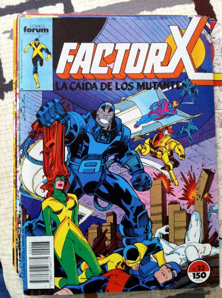 Cómics: FACTOR X. Lote de 79 comics + 3 Crossovers. Todos 1ª edición española, año 1988. - Foto 11 - 41102834