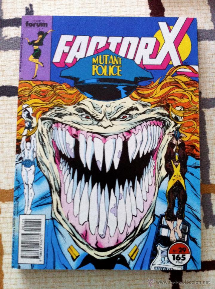 Cómics: FACTOR X. Lote de 79 comics + 3 Crossovers. Todos 1ª edición española, año 1988. - Foto 12 - 41102834