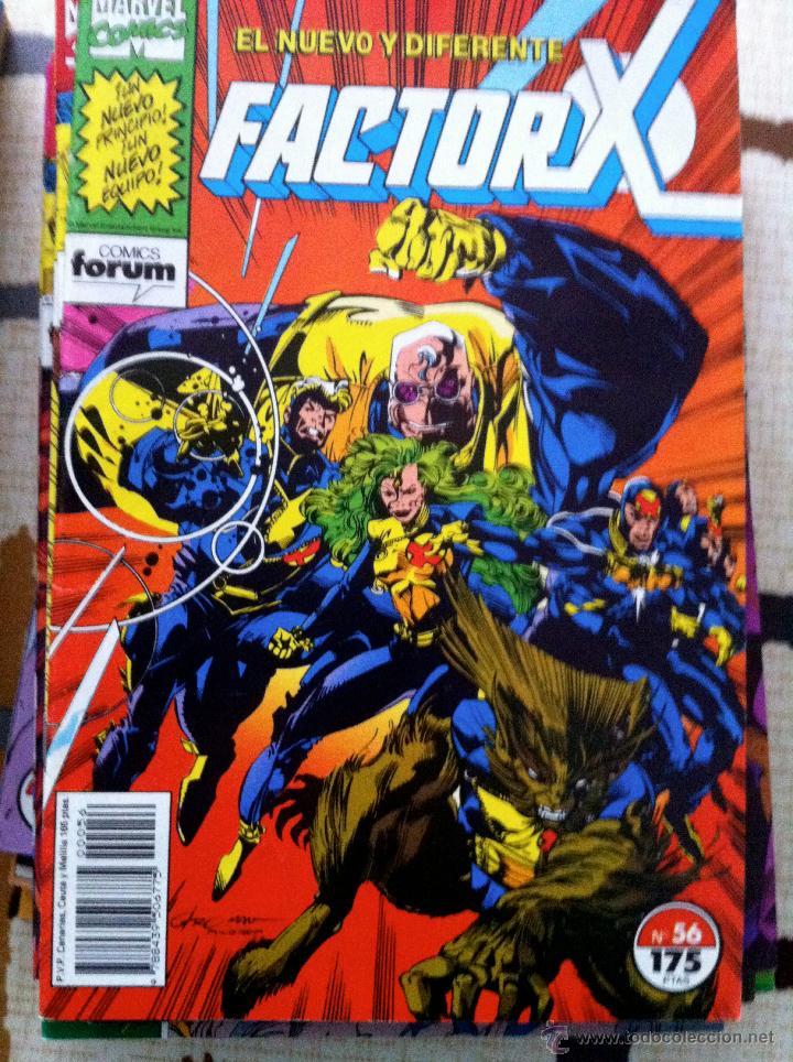 Cómics: FACTOR X. Lote de 79 comics + 3 Crossovers. Todos 1ª edición española, año 1988. - Foto 15 - 41102834