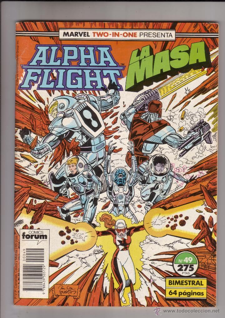 FORUM - ALPHA FLIGHT / LA MASA VOL.1 NUM. 49 ( 66 PAGINAS ) (Tebeos y Comics - Forum - Alpha Flight)