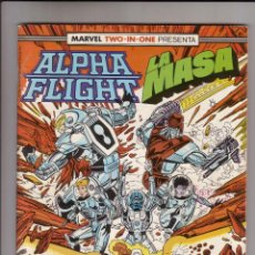 Cómics: FORUM - ALPHA FLIGHT / LA MASA VOL.1 NUM. 49 ( 66 PAGINAS ). Lote 41182876