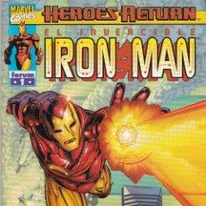 Cómics: EL INVENCIBLE IRON MAN. HEROES RETURN. 1 AL 12. Lote 41224648