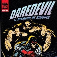 Cómics: DARE DEVIL. 2 TOMOS. EL REGRESO DE KINGPIN.+ EL HOMBRE SIN MIEDO. TOMO 4. Lote 41225550