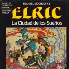 Cómics: MICHAEL MOORCOCK'S ELRIC. LA CIUDAD DE LOS SUEÑOS. 1984. Lote 41225673