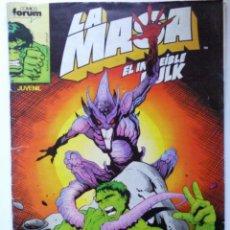 Cómics: COMICS FORUM LA MASA, EL INCREIBLE HULK, Nº 49. Lote 41232710