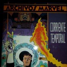 Cómics: ARCHIVOS MARVEL : LOS 4 FANTÁSTICOS CORRIENTE TEMPORAL. Lote 41270548