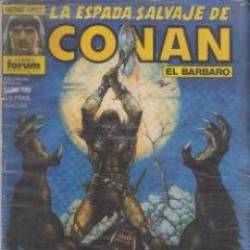 Cómics: COMIC - LA ESPADA SALVAJE DE CONAN EL BÁRBARO -Nº 109 ED.FORUM 1ª ED.. Lote 41427541