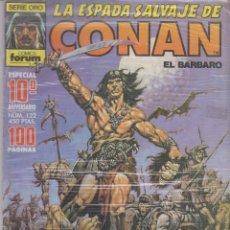 Cómics: COMIC - LA ESPADA SALVAJE DE CONAN EL BÁRBARO -Nº 122 ED.FORUM 1ª ED.. Lote 41427563