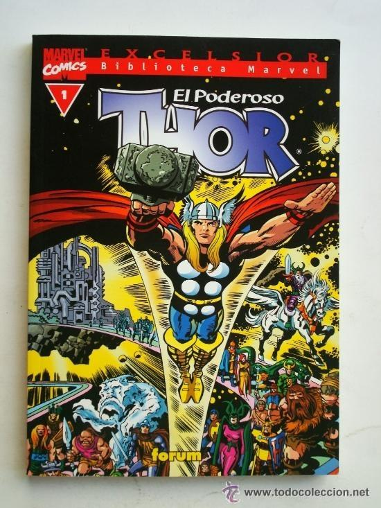 THOR LOTE 21 DEL 1 AL 21 NUMEROS MARVEL COMICS FORUM EXCELSIOR (Tebeos y Comics - Forum - Thor)
