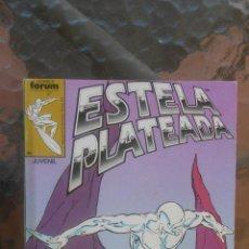 Cómics: TOMO COMIC ESTELA PLATEADA SILVER SURFER NUMEROS 1 AL 5 COMICS FORUM MARVEL. Lote 41474996
