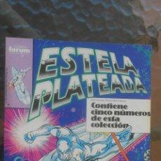 Cómics: TOMO COMIC ESTELA PLATEADA SILVER SURFER NUMEROS 11 AL 15.COMICS FORUM MARVEL. Lote 41475136