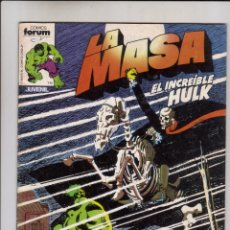 Cómics: FORUM - LA MASA VOL.1 NUM. 10 ( MBE ). Lote 41581971