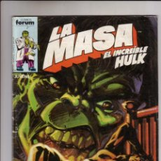 Cómics: FORUM - LA MASA VOL.1 NUM. 31. Lote 41582574
