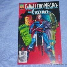 Cómics: CABALLERO NEGRO EXODO - ( FORUM ) - NUMERO ESPECIAL. Lote 41641124