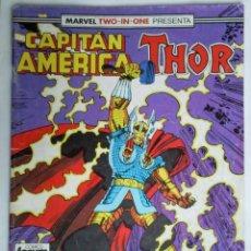 Cómics: COMICS FORUM MARVEL TWO - IN - ONE PRESENTA CAPITAN AMERICA THOR Nº 60. Lote 41648936