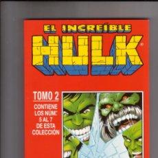 Cómics: FORUM - HULK VOL.3 RETAPADO TOMO 2 ( NUM. 5-6-7 ).PERFECTO ESTADO. Lote 41706024