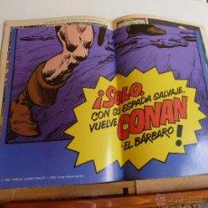 Cómics: CONAN EL BARBARO LOTE DE(17Nº+1) Nº(1)CON POSTER+1 REGALO VER FOTOS. Lote 41720886