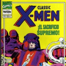 Cómics: CLASSIC X-MEN - ¡EL SACRIFICIO SUPREMO! - JACK KIRBY / STAN LEE - Nº8 - FORUM. Lote 41752262