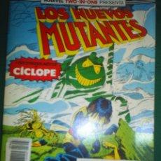 Cómics: LOS NUEVOS MUTANTES RETAPADO Nº 51 AL 53. Lote 41789466