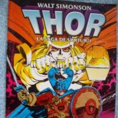Cómics: THOR TOMO LA SAGA DE SURTUR WALT SIMONSON Nº 1. Lote 42022464