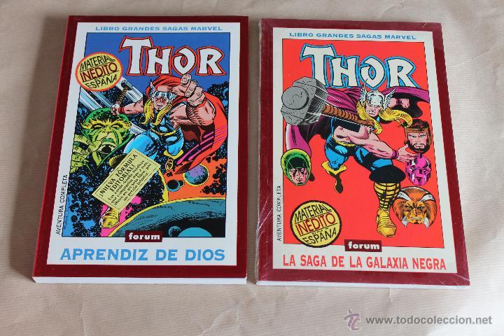 GRANDES SAGAS MARVEL 5 APRENDIZ DE DIOS 20 LA SAGA DE LA... (THOR 1 2 COMPLETA) NUEVOS (PRECINTADOS) (Tebeos y Comics - Forum - Thor)