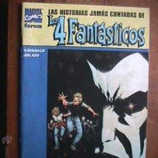 Cómics: LAS HISTORIAS JAMAS CONTADAS DE LOS 4 FANTASTICOS, LOS STORMS, MARVEL, FORUM, 2002. Lote 263628040