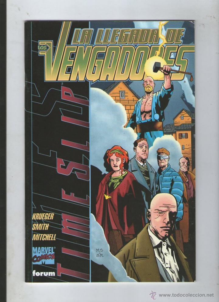 LA LLEGADA DE LOS VENGADORES: TIMESLIP.DA (Tebeos y Comics - Forum - Vengadores)