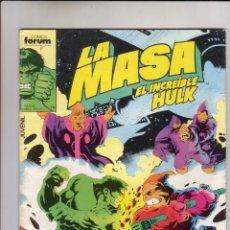 Cómics: FORUM - LA MASA VOL.1 NUM. 44. Lote 42126843