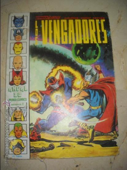 """LOS VENGADORES ,NUMERO 2,""""SIN VICTORIA FINAL"""" (Tebeos y Comics - Forum - Vengadores)"""