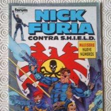 NICK FURIA CONTRA S.H.I.E.L.D. numero 1 de Bob Harras, Paul Neary
