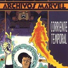 Cómics: ARCHIVOS MARVEL: LOS 4 FANTÁSTICOS (SIMONSON Y ADAMS) - 2 TOMOS -SALTO TEMPORAL Y CORRIENTE TEMPORAL. Lote 42183232