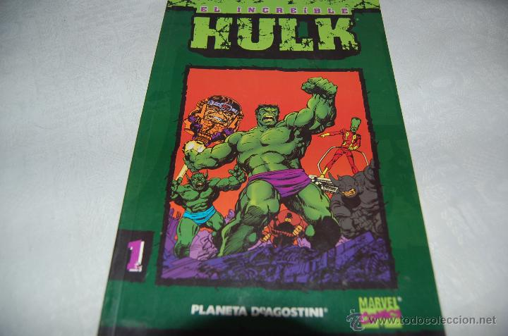 EL INCREIBLE HULK Nº 1 PLANETA (Tebeos y Comics - Forum - Hulk)