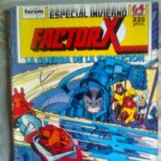 Cómics: FACTOR X-ESPECIAL INVIERNO 1988-LA GUERRA DE LA EVOLUCIÓN-LOUISE SIMONSON-1568. Lote 42236694