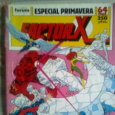 Cómics: FACTOR X-ESPECIAL PRIMAVERA-1989-LOUISE SIMONSON-DAVID MAZZUCCHELLI-1569. Lote 42236891