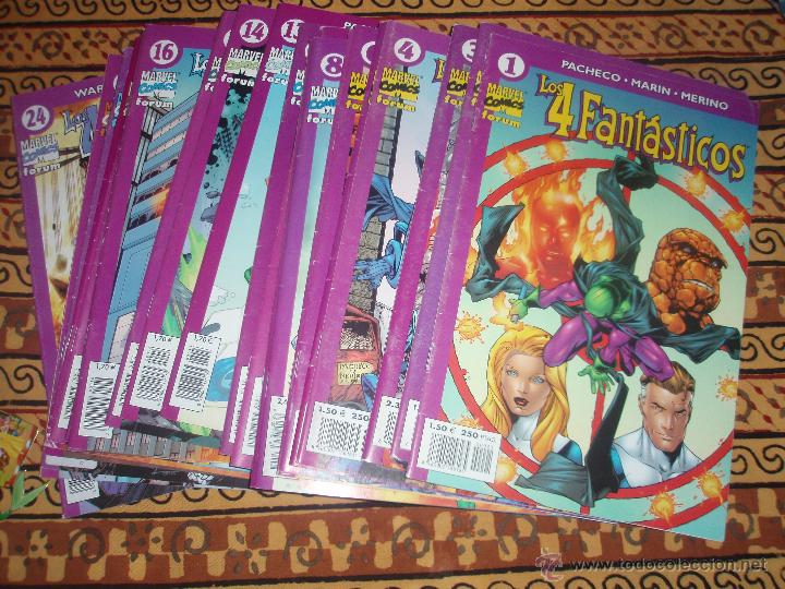 LOS 4 FANTASTICOS VOL.4 1 AL 24 COMPLETA (Tebeos y Comics - Forum - 4 Fantásticos)
