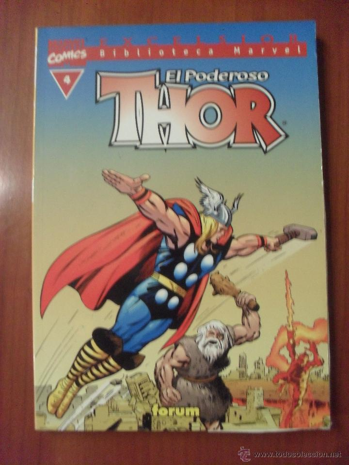 THOR, BIBLIOTECA MARVEL, NUMERO 4, FORUM (Tebeos y Comics - Forum - Thor)