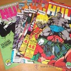 Cómics: INCREIBLE HULK & IRON MAN (COLECCION COMPLETA EN NUEVE EJEMPLARES). Lote 42261508