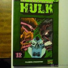 Cómics: COMICS MARVEL EL INCREIBLE HULK .- NUM 12 -PLANETA AGOSTINI. Lote 42287831