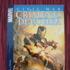 Cómics: CIVIL WAR – CRIMENES DE GUERRA – MARVEL – IRON MAN – CAPITAN AMERICA – VENGADORES. Lote 42363570