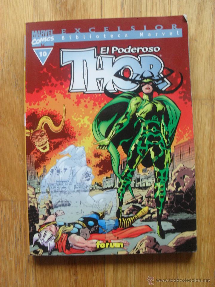 EL PODEROSO THOR, BIBLIOTECA MARVEL, NUMERO 10 (Tebeos y Comics - Forum - Thor)