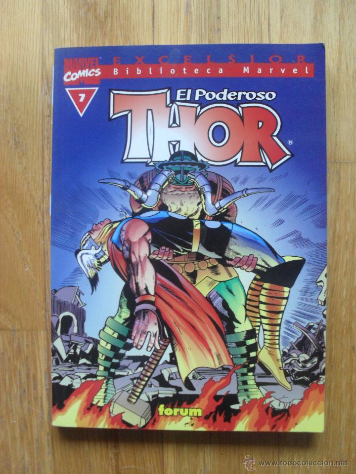 EL PODEROSO THOR, BIBLIOTECA MARVEL NUMERO 7 (Tebeos y Comics - Forum - Thor)