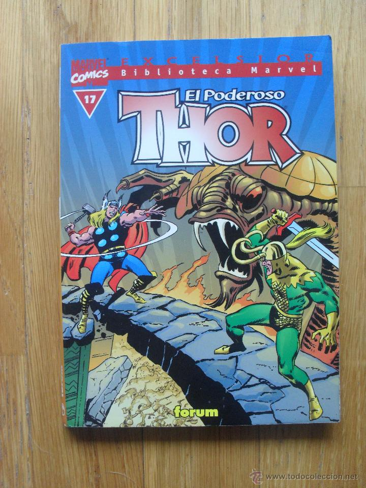 EL PODEROSO THOR, BIBLIOTECA MARVEL NUMERO 17 (Tebeos y Comics - Forum - Thor)