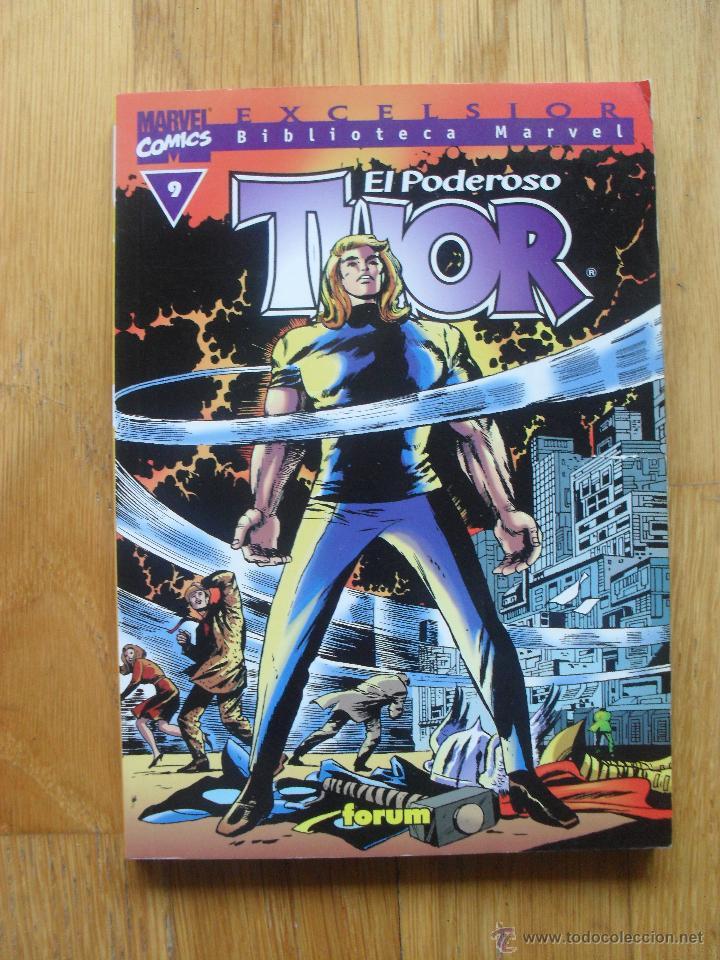 EL PODEROSO THOR, BIBLIOTECA MARVEL NUMERO 9 (Tebeos y Comics - Forum - Thor)